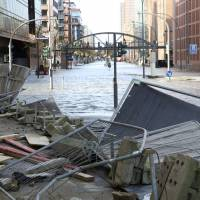North and Central Europe wind storm leaves at least six dead, freighter aground
