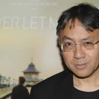 Kazuo Ishiguro attends a special screening of the film 'Never Let Me Go,' based on his novel, in New York on Sept. 14, 2010. | AP