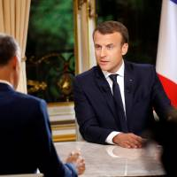 Macron: France will expel illegal immigrants who commit crimes and Harvey Weinstein's medal to be revoked