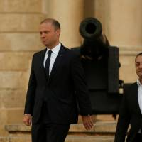 Maltese prime minister promises reward to find killer of journalist, who was his major critic