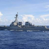 U.S. warship, aided by MSDF destroyer, helps Iran fishing boat after pirate attack