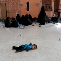 U.S. coalition airstrikes seen taking heavy civilian toll as families flee Raqqa and Islamic State holdouts