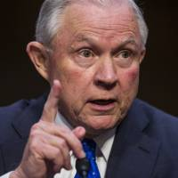 Jeff Sessions refuses to divulge to senators his conversations with Trump over FBI chief's axing