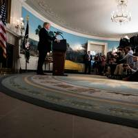 Trump applies chaos strategy to health care, Iran