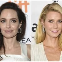 This combination photo shows actresses Angelina Jolie (left) at a premiere for 'The Breadwinner' at the Toronto International Film Festival on Sept. 10 and Gwyneth Paltrow arriving at the amfAR Inspiration Gala in Los Angeles on Oct. 29, 2015. An avalanche of allegations poured out Tuesday against Harvey Weinstein in on-the-record reports that detailed claims of sexual abuse and included testimonies from Jolie and Paltrow, further intensifying the already explosive collapse of the disgraced movie mogul. | AP