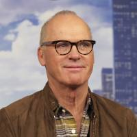 Actor Michael Keaton attends the 'Spider-Man: Homecoming' cast photo call at The Whitby Hotel in New York in June. Keaton is among the stars weighing in on the firing of movie mogul Harvey Weinstein from the company he co-founded. The move came after decades of sex harassment allegations against the producer were revealed in a New York Times report. Keaton calls Weinstein's actions 'disgusting and creepy.' | BRENT N. CLARKE / INVISION / VIA AP