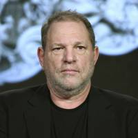 Producer Harvey Weinstein participates in the 'War and Peace' panel at the A&E 2016 Winter TCA in Pasadena, California, in 2016. Weinstein has been fired from The Weinstein Co., effective immediately, following new information revealed regarding his conduct, the company's board of directors announced Sunday. | RICHARD SHOTWELL / INVISION / VIA AP, FILE