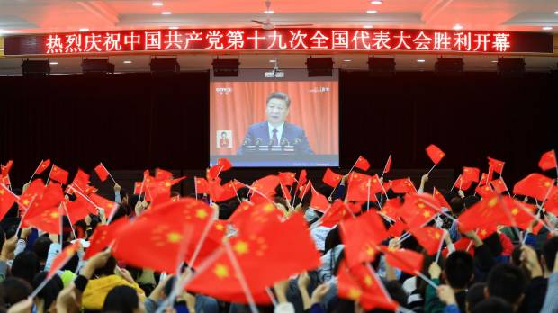 Xi lays out road map to make China leading global power by 2050