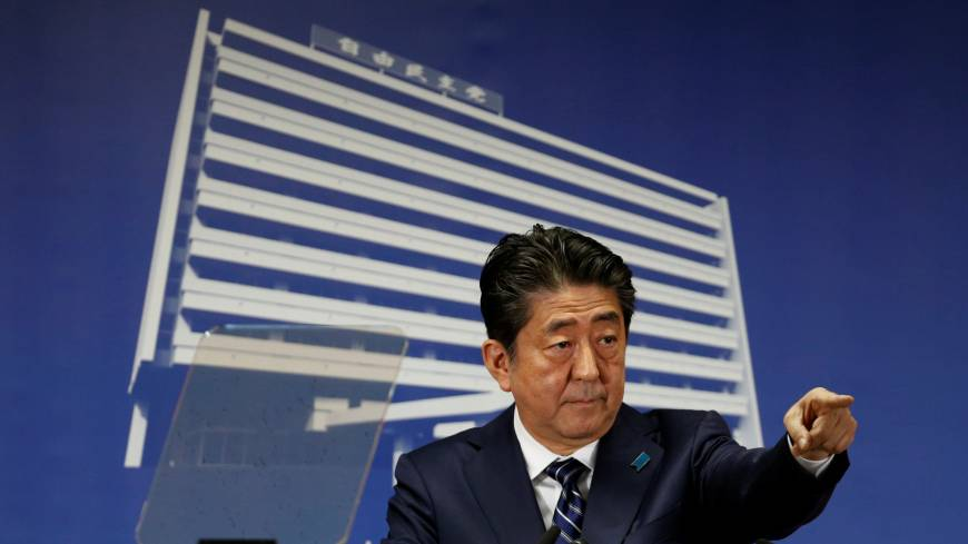 Abe claims victory as powerful endorsement, may seek re-election next month