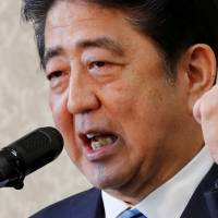 In phone call with Trump, Abe extends condolences for victims of Las Vegas massacre
