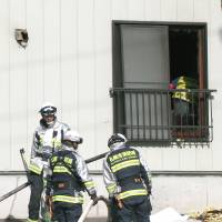 Sapporo apartment fire claims two infant brothers