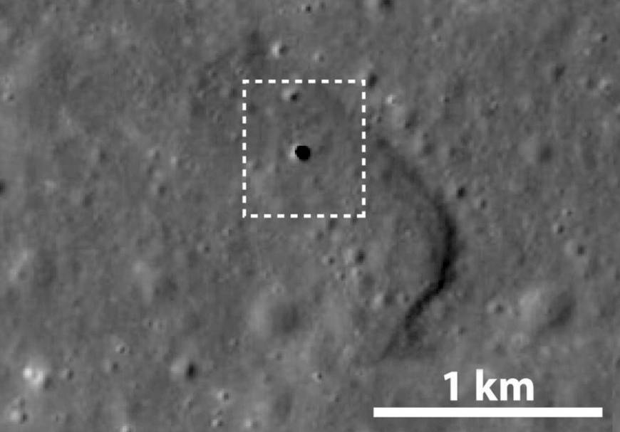 Japan's lunar probe discovers moon cave, which may be optimal base for space exploration