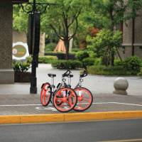 Mobike Japan's bicycles are not electric. | COURTESY OF MOBIKE JAPAN