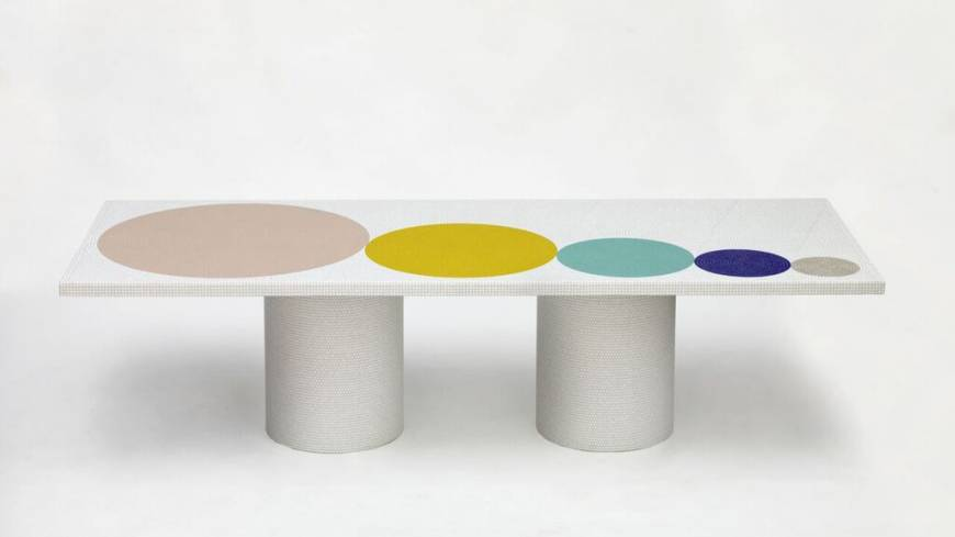 Crescendo coffee table by Pierre Charpin | © FABRICE GOUSSET