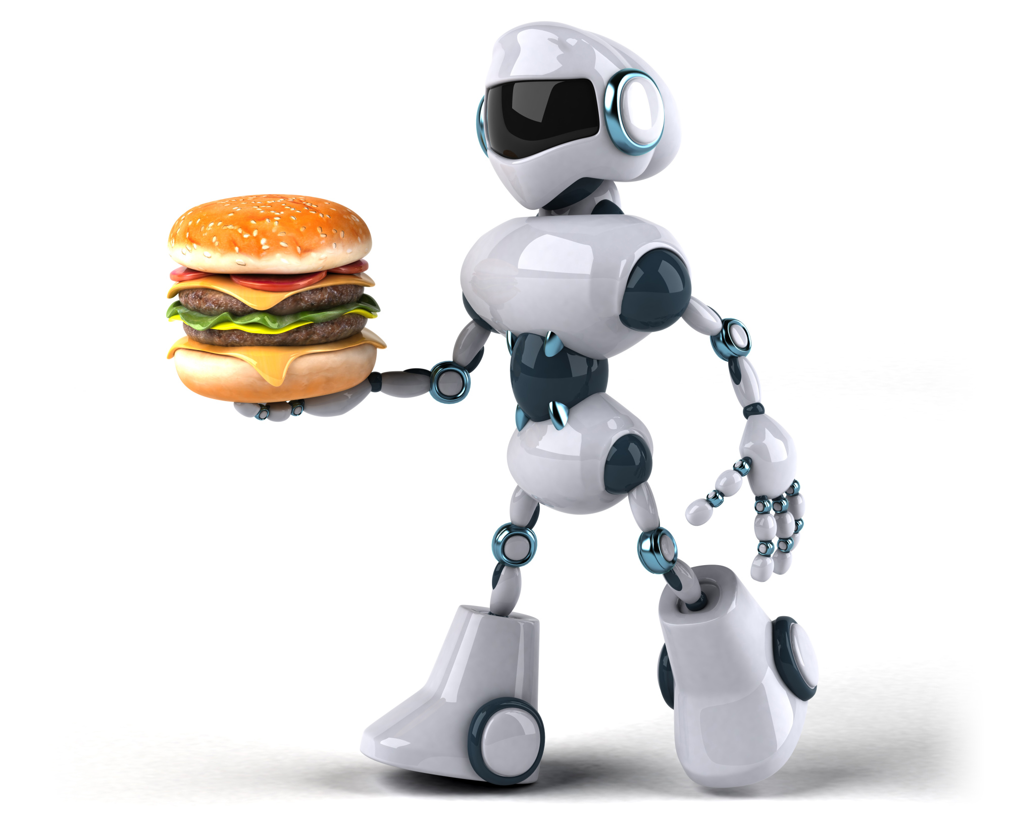 Not just yet: Although robots aren't involved, Shake Shack's Astor Place location in New York will use automated kiosks to take customer orders. | ISTOCK