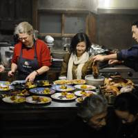 Missing our Thanksgiving feast in Japan, with all its bustle and chaos