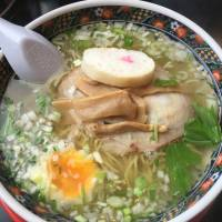 Happiness in a  bowl: The Hakodate ramen at Ajisai is a good way to stave of the cold northern wind.   DAVEY YOUNG