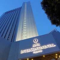 Night view of the ANA InterContinental Tokyo