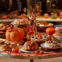 The Halloween-inspired dessert buffet at The French Kitchen.