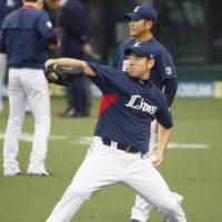 Lions southpaw Yusei Kikuchi, who went 8-0 against the Eagles this season, is expected to start Game 1  of the Pacific League Climax Series first stage on Saturday at MetLife Dome. | KYODO