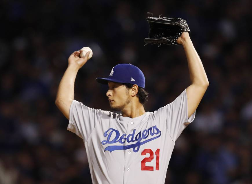 Darvish to start Game 2 or 3 of Fall Classic