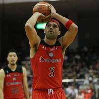 Chiba's Michael Parker hits milestone with 10,000th point