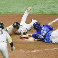 Hawks win Game 2 of Japan Series after contentious call