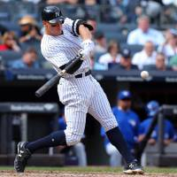 Yankees slugger Aaron Judge belted 52 homers this season, a record for MLB rookies. | USA TODAY / VIA REUTERS