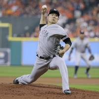 Tanaka gets no run support as Astros take ALCS opener