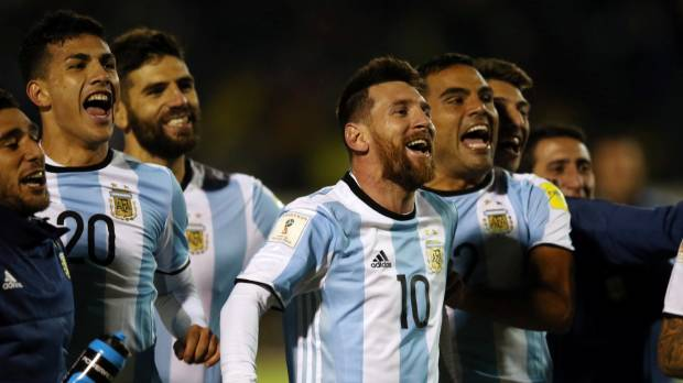 Messi hat trick punches Argentina's World Cup ticket