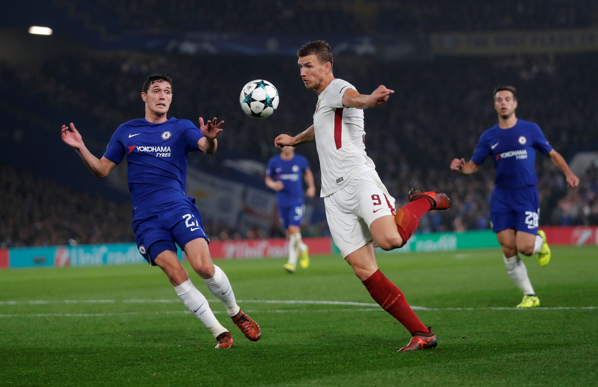 Chelsea Roma stage entertaining draw