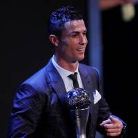 Real Madrid's Ronaldo named FIFA's Player of the Year again