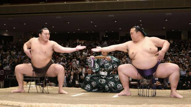 Sumo pulls out all the stops at promotional event