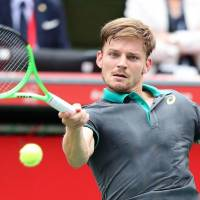 Goffin opens Japan Open campaign with win over Lopez