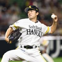 Hawks' Wada urges pitchers to master two-seam fastball