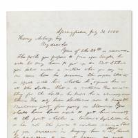 Lincoln letter about slavery could fetch $700,000, Einstein's telescope $300,000 at Christie's