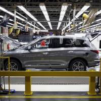 Nissan Motor Co. is under fire for shoddy final inspections of its newly assembled cars. | BLOOMBERG