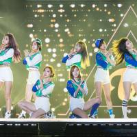 Set the date: Pop group Twice will make its debut at this year's 'Kohaku Uta Gassen' on NHK, the first time K-pop will be represented there since 2011. | LEE YOUNG HO/SIPA USA