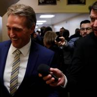 Trump insults Arizona Sen. Jeff 'Flake(y)' ahead of expected no vote on GOP tax plan