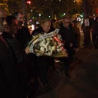 Jittery French honor 130 killed in Paris attacks on second anniversary