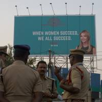 India clears Hyderabad's streets of beggars, boosts security ranks by 10,000 for Ivanka Trump visit