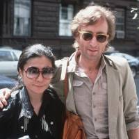 In this Aug. 22, 1980, photo, John Lennon and his wife, Yoko Ono, arrive at The Hit Factory, a recording studio in New York City. German police said Monday they have arrested a man suspected of handling stolen objects from the estate of John Lennon, including diaries stolen from Lennon's widow in New York in 2006. | AP
