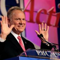 Senate Republicans cold-shoulder Alabama candidate Roy Moore amid claims he groped girl, 14, years ago