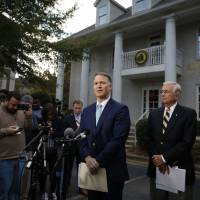 Trump uncharacteristically quiet as Roy Moore storm grows louder amid sexual abuse claims