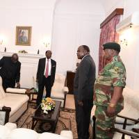 Mugabe reportedly cried when he agreed to step down from Zimbabwean presidency