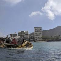 Boat wreck off Waikiki shows eco-risk of Hawaii's dodgy fishing fleet practices