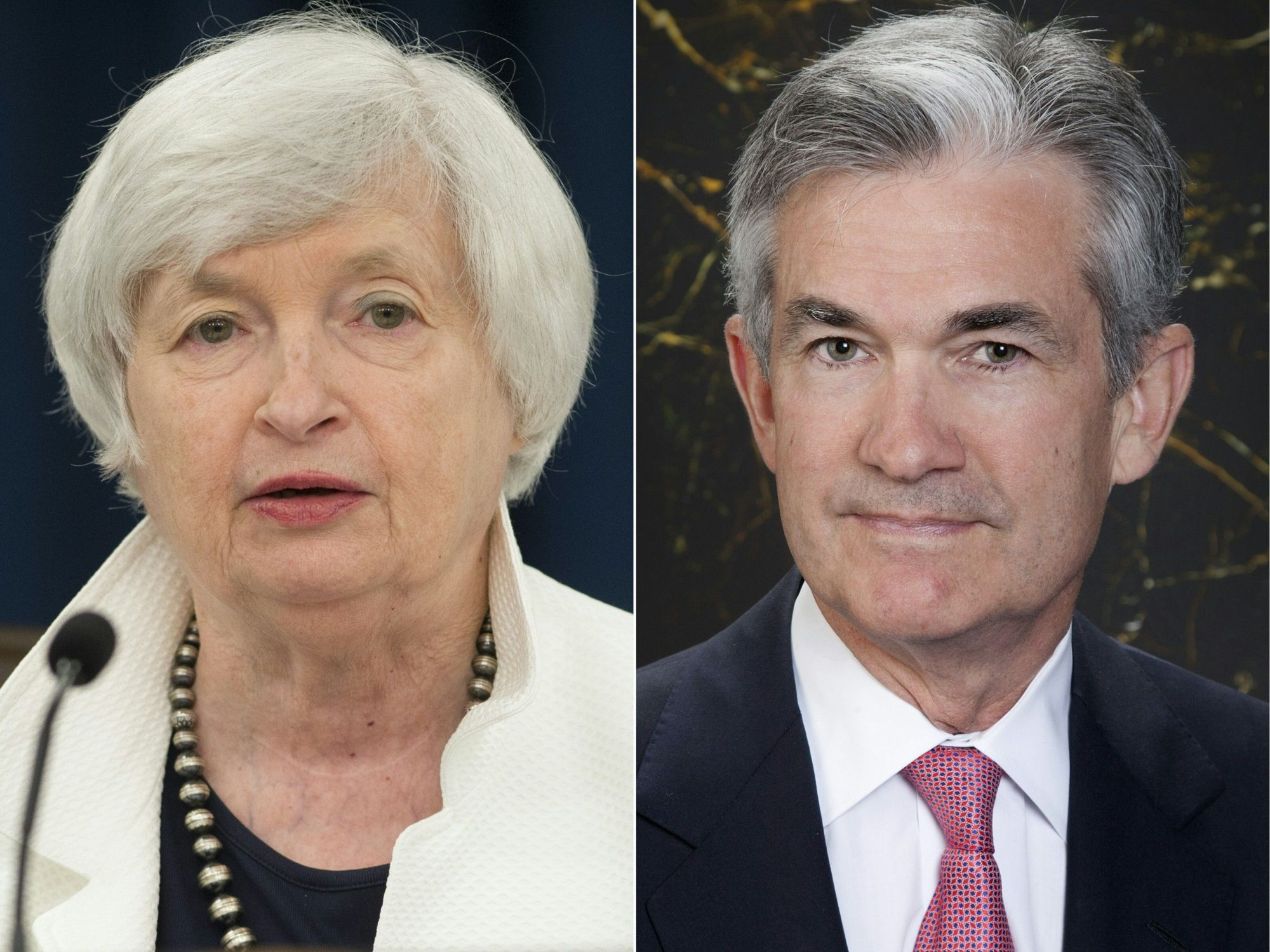 Federal Reserve Gov. Jerome Powell has generally backed Fed Chair Janet Yellen's cautious approach to withdrawing stimulus. | AFP-JIJI