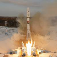 Russia loses contact with weather satellite after launch from new spaceport; orbit believed failed