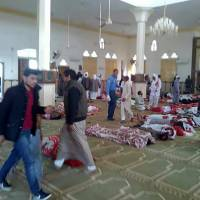 Attack on packed mosque in Egypt kills at least 184: state media