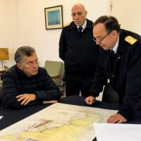 Argentina's navy says sounds didn't come from missing sub